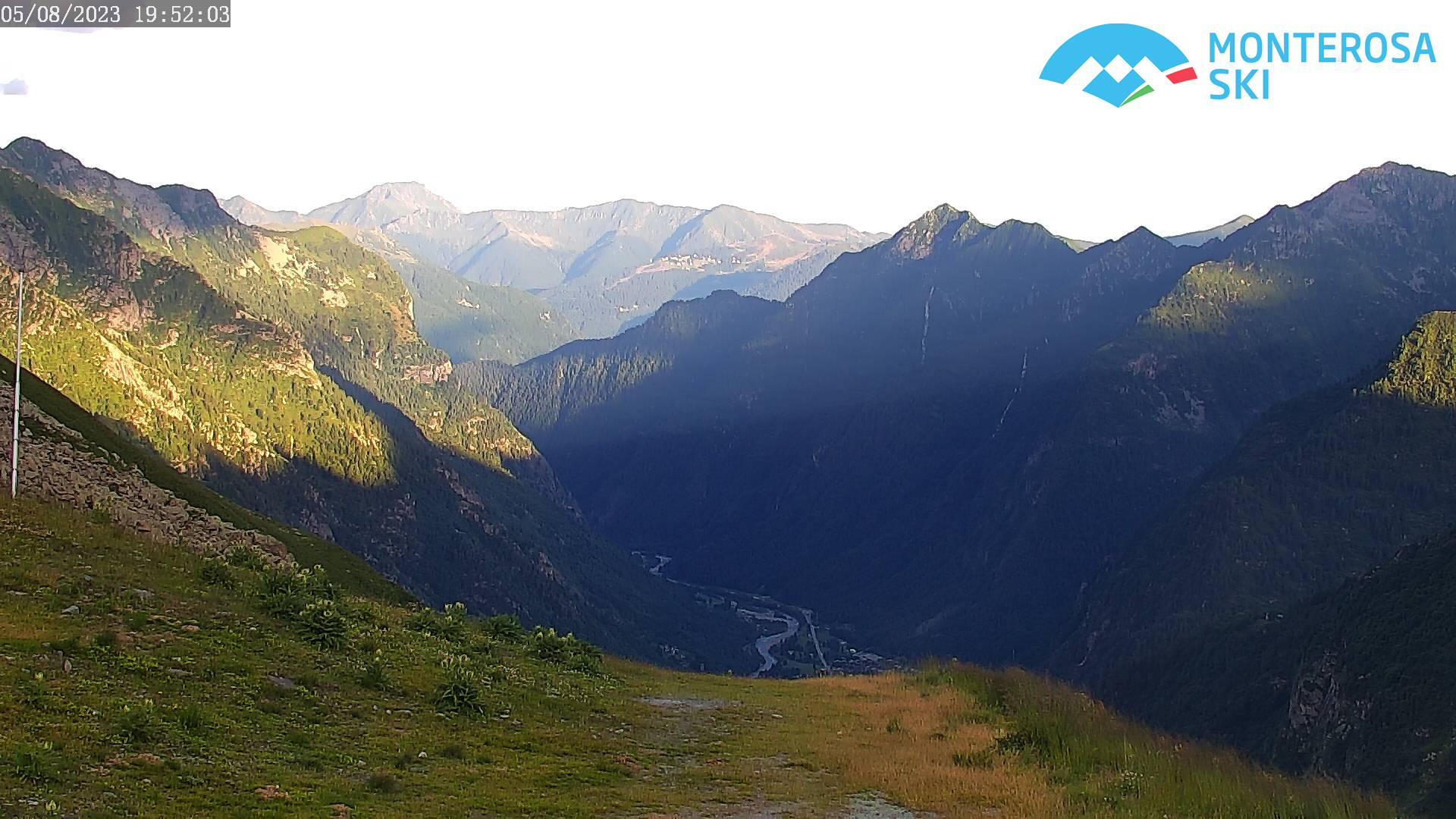 Panorama da Bocchetta delle Pisse
