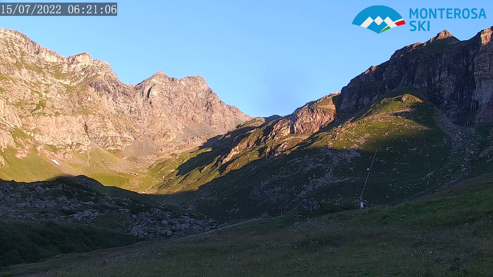 Vista sulla Val d'Olen